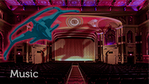 thumbnail image of cinema interior with link to Crispin Merrell music page